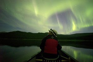 When the Aurora Borealis can be Seen Image